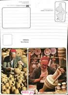 600889,Mehrbild Ak Souvenir De Tunisie Potiers De Nabeul Töpferei Töpferware Maler Tu - Tunesien