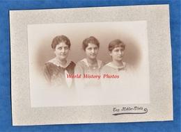 Photo Ancienne - MULHOUSE - Portrait De Famille , Mére & Fille - Photographe Eugène Kohler Dietz Alsace Femme Mode Bijou - Photos