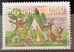 SLOVENIA 2007 Europa - Scouts At Campfire Comic Postally Used Michel # 644 - Slovénie