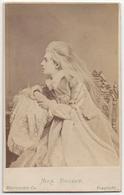 THÉÂTRE. Mlle Rousby. CDV The London Cie à LONDRES. UK - Photos