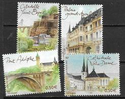 France 2003 N° 3624/3627 Neufs Luxembourg Sous Faciale - France