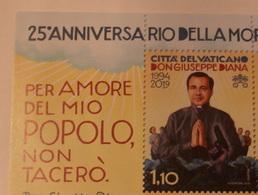 VATICAN 2019, 25TH ANNIVERSARY DEATH DON GIUSEPPE DIANA,   MNH** - Vaticano (Ciudad Del)