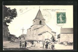 CPA Saint-Priest-des-Champs, L'Eglise - Sin Clasificación
