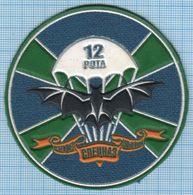 RUSSIA / Patch Abzeichen Parche Ecusson / Airborne Intelligence Service. Special Forces. Bat 12 Company - Ecussons Tissu