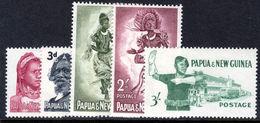 Papua New Guinea 1961-62 New Values Unmounted Mint. - Papouasie-Nouvelle-Guinée