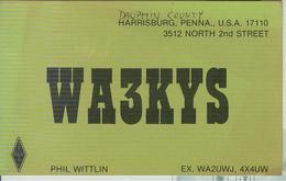 Harrisburg In Dauphin County, Pennsylvania (U.S.A.). - RADIO AMATORIALE- 29 APRILE 1984 - - Radio Amatoriale
