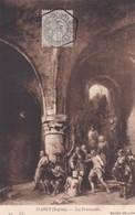 ISABEY, EUGENEE. LES PRISONNIERS. ND PHOT. OBLITERE NANCY 1910 SUR PAQUEBOT STEAMER - BLEUP - Peintures & Tableaux