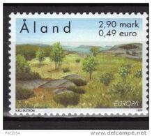 Aland 1999 N°156 Neuf Europa Parcs Naturels - Aland