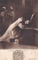 JOUVENET. SAINT BRUNO EN PRIERE. ND PHOT. OBLITERE NANCY 1910 SUR PAQUEBOT STEAMER - BLEUP - Paintings