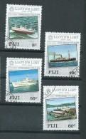 Fiji 1984 Lloyds Of London Shipping & Insurance Set 4 FU - Fidji (1970-...)