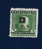 Yugoslavia, Kingdom SHS, Issues For Bosnia 1919 - Unused Stamps