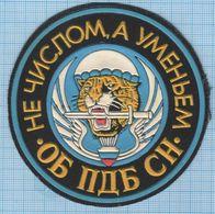 RUSSIA / Patch Abzeichen Parche Ecusson / Airborne Assault. Special Forces .Tiger. Parachute. - Ecussons Tissu