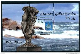 Aland 1997 Bloc N° 3 Neuf, 75 Ans D'autonomie - Aland