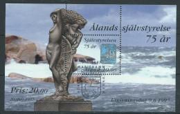 Aland 1997 Bloc N° 3 Oblitéré, 75 Ans D'autonomie - Aland
