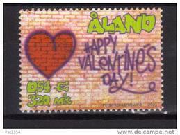 Aland 2001 N°190 Neuf Saint Valentin - Aland