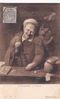 D.RYCKAERT. L'AVARICE. LL. OBLITERE NANCY 1910 SUR PAQUEBOT STEAMER - BLEUP - Paintings