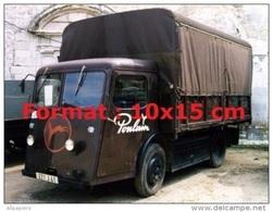 Reproduction D'une Photographie D'un Camion Sovel Pour Le Chocolat Poulain - Reproductions