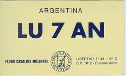 ARGENTINA - BUENOS AIRES - RADIO AMATORIALE- 12 APRILE 1984 - - Radio Amatoriale