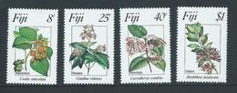Fiji 1983 Flowers Set 4  MNH - Fidji (1970-...)
