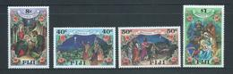 Fiji 1987 Christmas Set 4  MNH - Fidji (1970-...)
