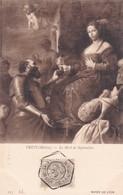 PRETI, MATIA. LA MORT DE SOPHONISBE. LL. OBLITERE NANCY 1910 SUR PAQUEBOT STEAMER - BLEUP - Paintings