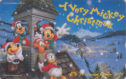 Télécarte NEUVE Japon / 110-203306 - DISNEY - NOEL - CHRISTMAS Japan MINT Phonecard / Limited Edition 3000 EX - Disney