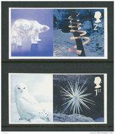 GRANDE-BRETAGNE - 2003 - Yvert  2502a/2503a - NEUFS ** Luxe MNH - 2 Valeurs - Noël, Scultures De Glace - Unused Stamps
