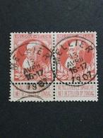 COB N ° 74 Oblitération Mellier 1907 - 1905 Grosse Barbe