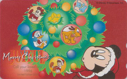 Télécarte Japon / 110-182610 - DISNEY - NOEL - CHRISTMAS ** ONE PUNCH ** - Japan Phonecard / Limited Edition 5000 EX - Disney