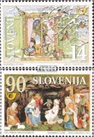 Slowenien 211-212 (kompl.Ausg.) Postfrisch 1997 Weihnachten Und Neujahr - Slovénie