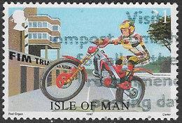 Isle Of Man SG761 1997 Motorcycle Team Trials 21p Good/fine Used [39/32029/25D] - Isle Of Man