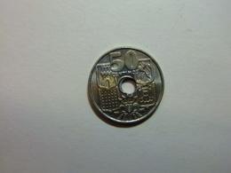 España 50 Céntimos 1949 *19 -   * Flechas Normales SIN NÚMERO EN ESTRELLA - 50 Céntimos
