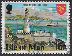 Isle Of Man SG123a 1978 Definitive 16p P14½ Good/fine Used [39/32033/25D] - Isle Of Man