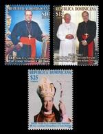 Dominican Republic 2007 Mih. 2099/101 Nicolas De Jesus Cardinal Lopez Rodriguez. Pope John Paul II MNH ** - Dominicaine (République)