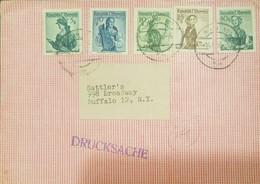 O) AUSTRIA, WOMAN. XF - Airmail