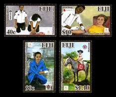 Fiji 2011 Mih. 1324/27 Medicine. International Year Of Volunteers MNH ** - Fidji (1970-...)