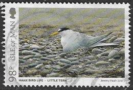 Isle Of Man 2017 Coastal Birds 98p Good/fine Used [39/32034/ND] - Isle Of Man