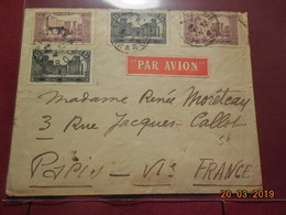 Lettre à Destination De Paris - Marokko (1891-1956)