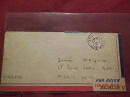Lettre De 1950 Avec Cachet (TOE Poste Aux Armées) SP 74682 BPM 403 - Poststempel (Briefe)