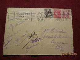 Carte De 1946 à Destination De Cognac - Poststempel (Briefe)