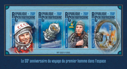 Central Africa 2016  First Man Traveling To Space - Central African Republic