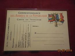 Carte Neuve En Franchise Militaire - Poststempel (Briefe)
