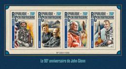 Central Africa 2016 John Glenn, John F. Kennedy . Space - Central African Republic