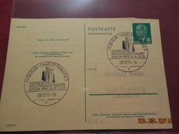 Entier Postal De 1955 à Destination De...... - DDR