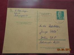 Entier Postal De 1958 à Destination De Berlin - DDR