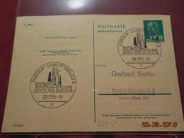 Entier Postal De 1955 à Destination De ..... - DDR