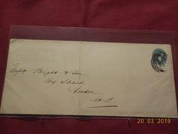 Entier Postal De 1902 à Destination De Londres - Luftpost & Aerogramme