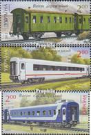 Ukraine 1256-1258 (kompl.Ausg.) Postfrisch 2012 Personenwagen - Ukraine