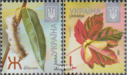 Ukraine 1254A I-1255A I (kompl.Ausg.) Postfrisch 2012 Bäume - Ukraine