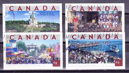CANADA 2000'S CANADIAN TOURIST ATTRACTIONS 4 MONTREAL JAZZ FESTIVAL SAINT JOSEPH'S ORATORY NATIONAL EXPOSITION CANCELLED - 1952-.... Règne D'Elizabeth II